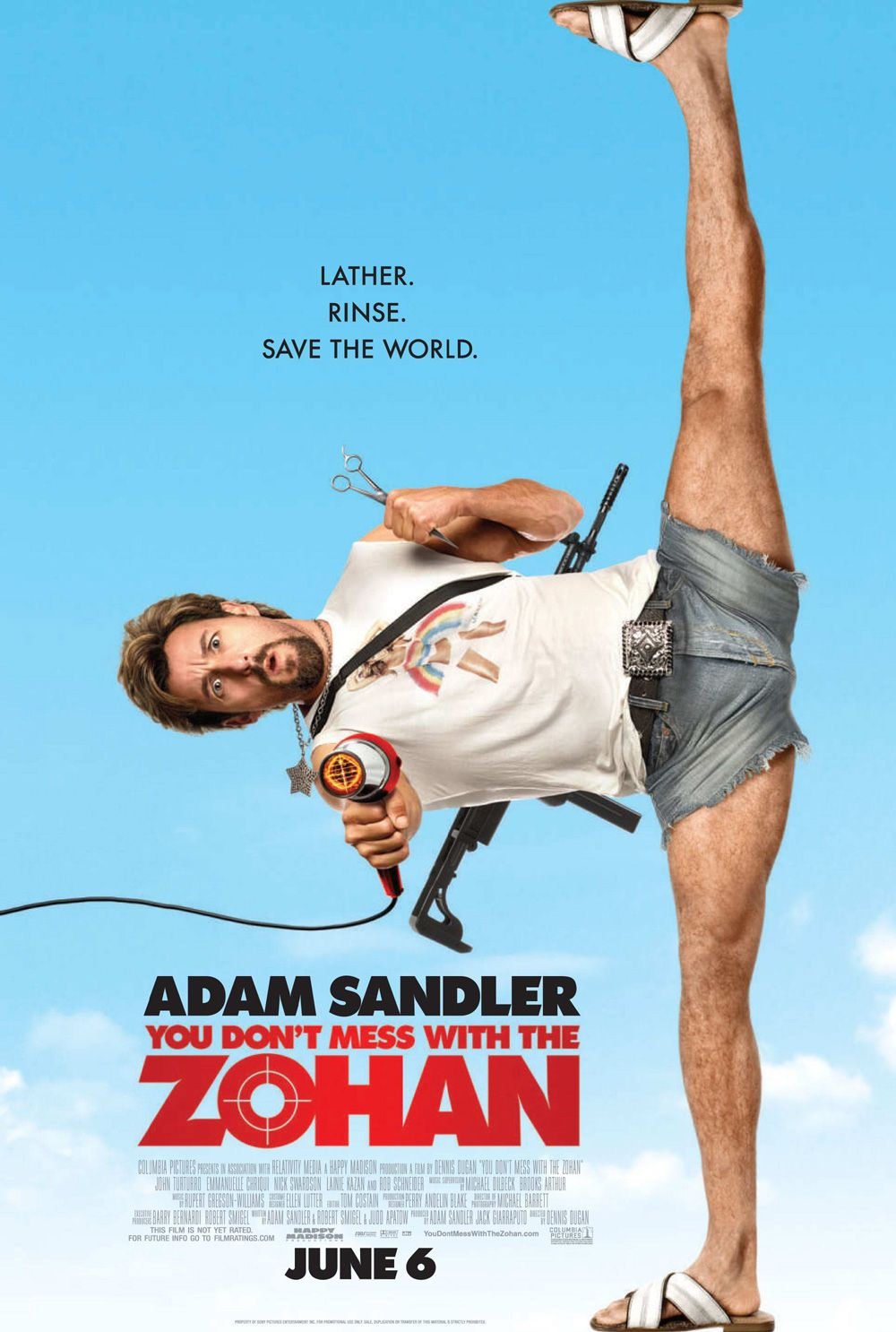dont mess with the zohan